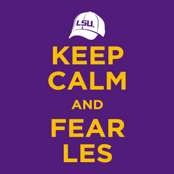 LSU Tigers Keep Calm and Fear Les T-Shirt