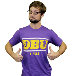 LSU Tigers DBU Defensive Back University Shirt