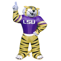 8 Foot Tall LSU Inflatable Mike the Tiger