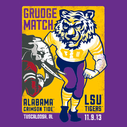 2013 Official Gameday Shirt - LSU vs. Alabama