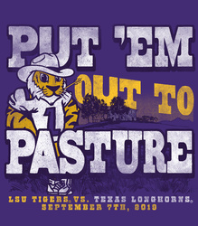 2019 LSU vs. Texas Gameday T-shirt