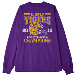 LONG SLEEVE Classic Thrifty: 2019 LSU National Champions T-Shirt by Highland & State