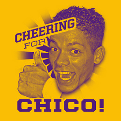 Cheering for Chico