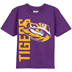 d2e47f7744f4 LSU Tigers New Agenda Toddler Go Large T-Shirt - Purple - Tiger District