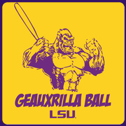 Geauxrilla Ball (Gorilla Ball) T-shirt