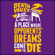 LSU Tigers Purple Death Valley: Dream Killer T-Shirt