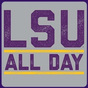 LSU ALL DAY T-shirt