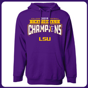 Knockout HOODY: 2019 LSU National Champions by Highland & State