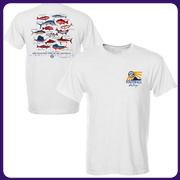 SEC Multifish T-Shirt – White