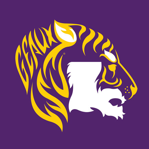 lsu tigers purple state tiger face t